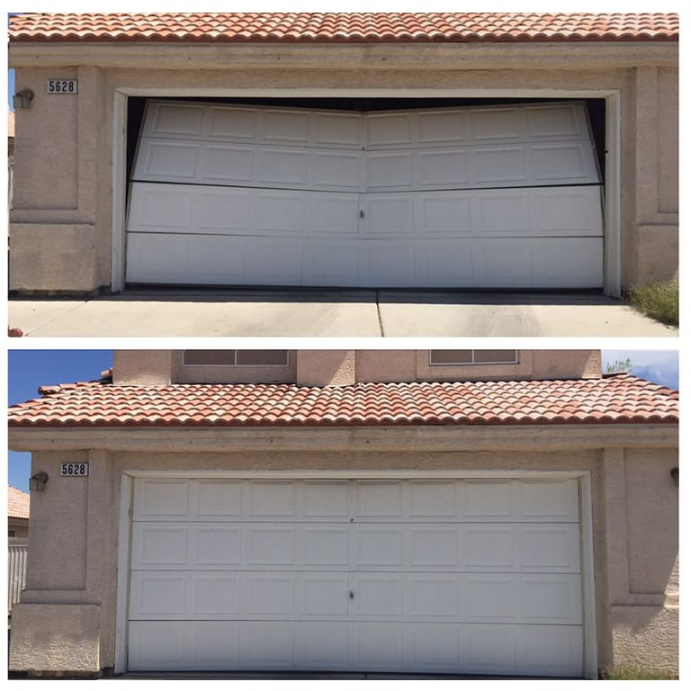 Garage Door Las Vegas Before After Gallery