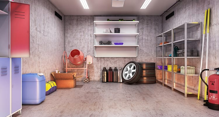 How to maximize space in your garage