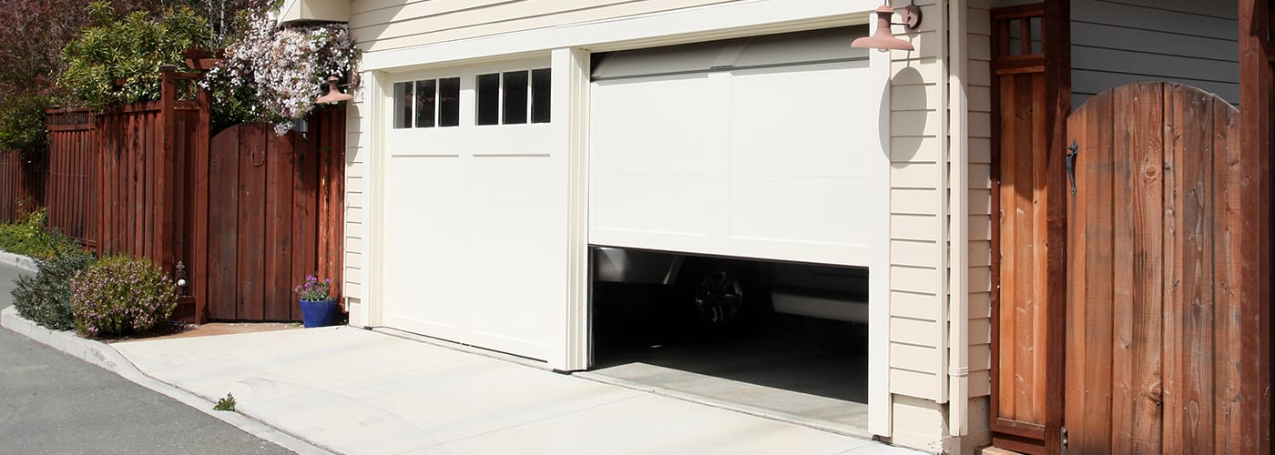 Why you should never leave your garage door open