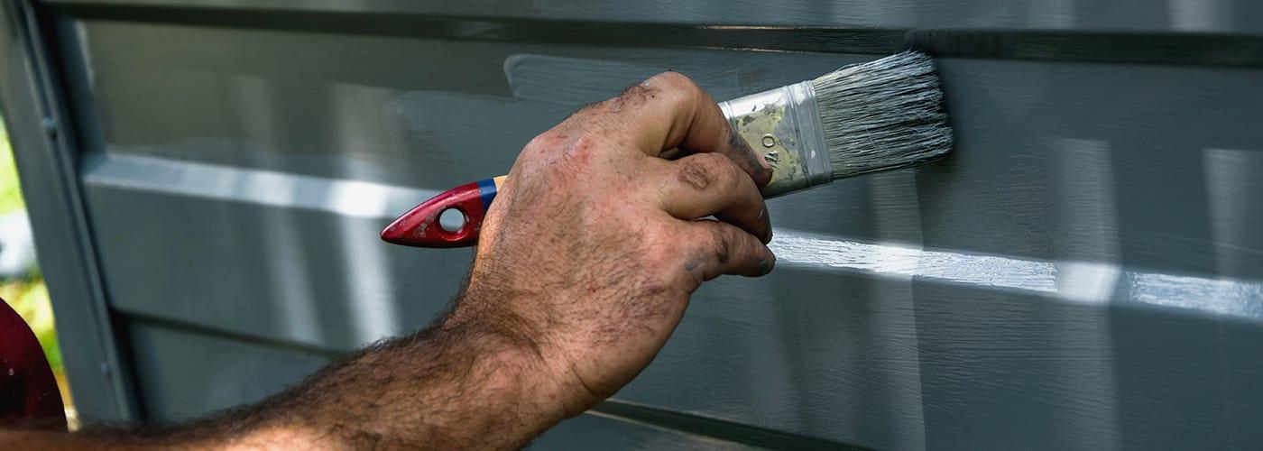 do you need to repaint your garage door